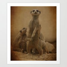 Simplez Mommy! Art Print