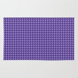Purple Triangulate Rug