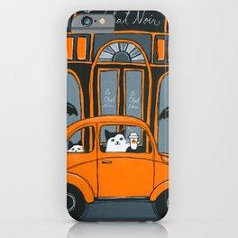 Le Chat Noir Cafe iPhone Case