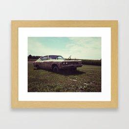 69 Chevelle 'Zombiecar' Framed Art Print