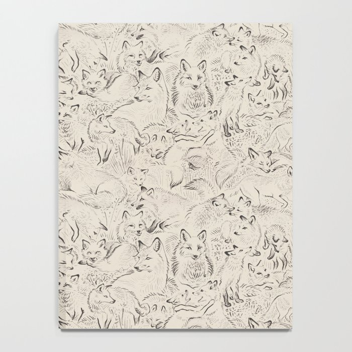 Resting foxes Notebook