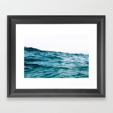 Lost My Heart To The Ocean Framed Art Print