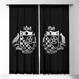 Cabot Crest Simulated Silver Blackout Curtain