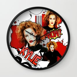 Kylie Minogue - Confide In Me Wall Clock