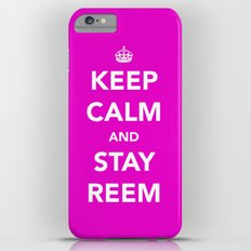 Keep calm and stay reem iPhone 6 Plus Slim Case