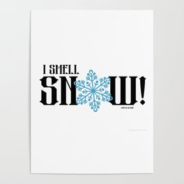 Gilmore Girls Quote Snow Poster