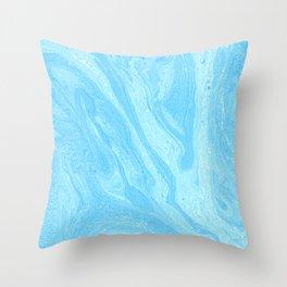 Blue #1 Throw Pillow