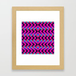 Purple Framed Art Print