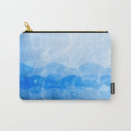 Energy Waves - Blue Version Carry-All Pouch