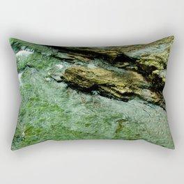 Green Water Rectangular Pillow