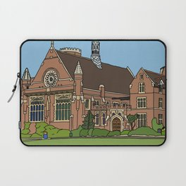 Cambridge struggles: Homerton College Laptop Sleeve
