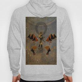 Anubis the egyptian god, pyramid Hoody