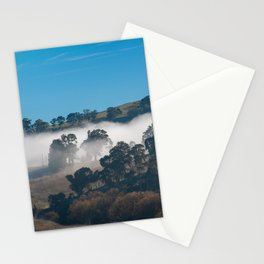Winter Fog in Rural Australia. Oberon. NSW. Australia. Stationery Cards