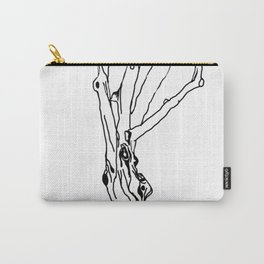 unfinished tree Carry-All Pouch
