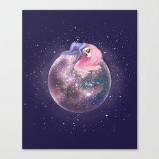 Lost in a Space / Callistori Canvas Print