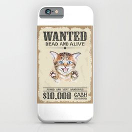 Dead and Alive iPhone Case