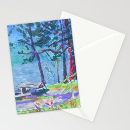 summer camp Stationery Cards