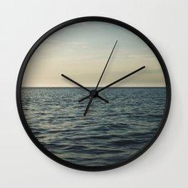 Calm Seas Wall Clock