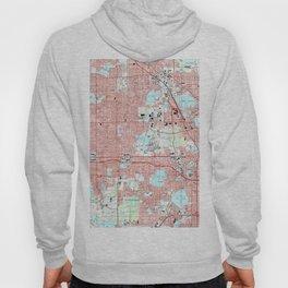 Orlando Florida Map (1995) Hoody