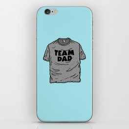 Team Dad iPhone Skin