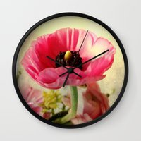 bohemian Wall Clocks featuring Bohemian by Olivia Joy StClaire