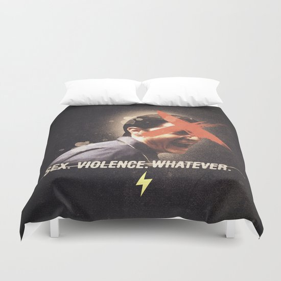 Black Mirror | Dale Cooper Collage Duvet Cover