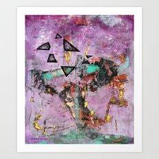 Dysfunction (oil on canvas) Art Print