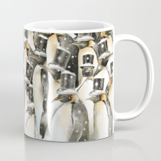 A Gathering in the Snow Mug