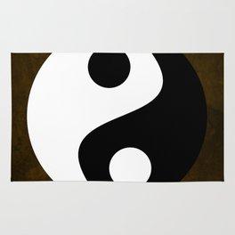 Yin and Yang - Brown Rug