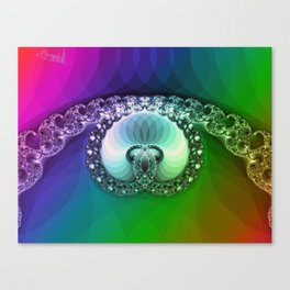 Diamond is for infinity Canvas Print