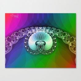 Diamond is for infinity Canvas Print