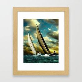 sailrace Framed Art Print
