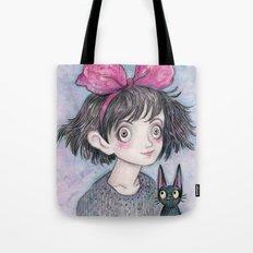 Kiki and Jiji Tote Bag