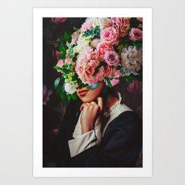 The Poser Art Print