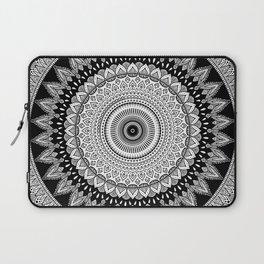 Black and White Mandala Two Laptop Sleeve