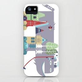 walking beast iPhone Case