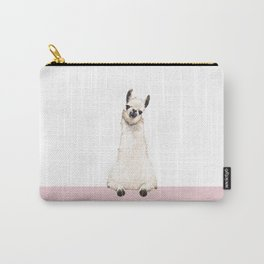 hi! Llama Carry-All Pouch