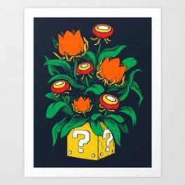 Florem Ignis Art Print