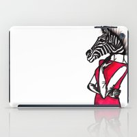 striped iPad Cases featuring Striped by Chetna Shetty