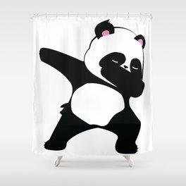 Dabbing panda - Panda - Panda dab - Funn panda clipart Shower Curtain