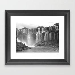 iguazu falls 2 Framed Art Print