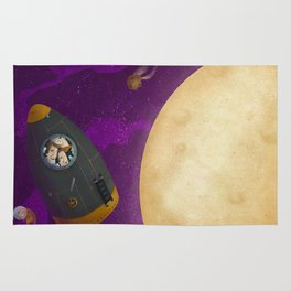 To the moon! Rug
