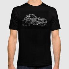 Motorcycle Black MEDIUM Mens Fitted Tee