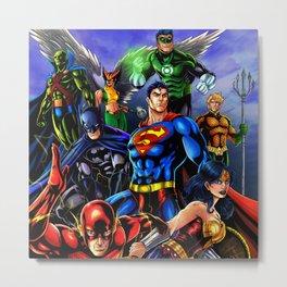 heroes all Metal Print