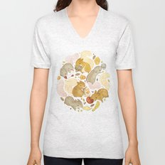 Things Squirrels Probably Shouldn't Be Eating Unisex V-Neck