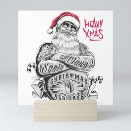 SANTA--CLAUS Mini Art Print