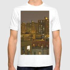 East Harlem, NYC Mens Fitted Tee White MEDIUM