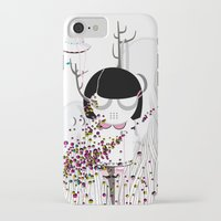 i want to believe iPhone & iPod Cases featuring I WANT TO BELIEVE by Agente Morillas