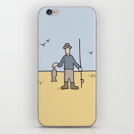 Beavis and Butthead Fisherman picture iPhone Skin