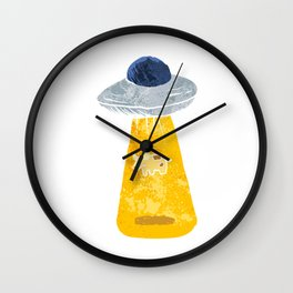 Cow Abduction. Wall Clock